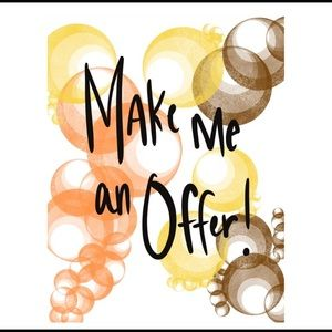 Make me a offer or bundle items and save